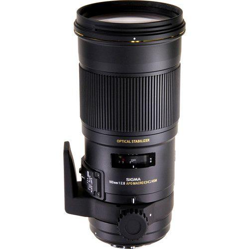 Sigma - 180mm f/2.8 APO EX DG OS HSM Macro Lens for Select Sigma Cameras - Black