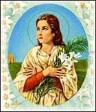 St.Maria Goretti...pray for us! Story of her life