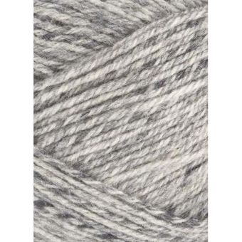 Patons Wool Blend Aran in Grey 100g 63% wool 4.5mm