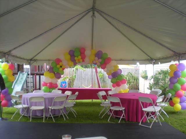17 best images about tent outdoor decor on pinterest for Outdoor party tent decorating ideas