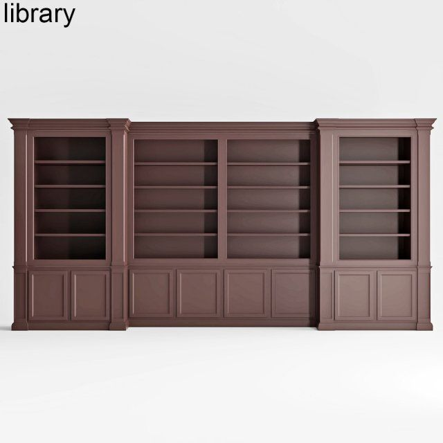 Built-in library 3D Model .max .c4d .obj .3ds .fbx .lwo .stl @3DExport.com by vizall