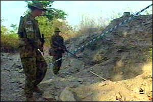 """Mass Grave Unearthed in Timor""  BBC Online, 19 October 1999"