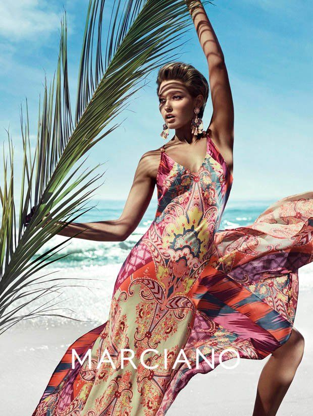 guess marciano spring 2014 campaign4 Clara Alonso & Heather Depriest Front Guess by Marciano Spring 2014 Ads by Hunter & Gatti