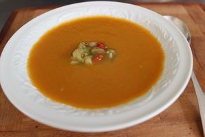 Asian flavoured Carrot Soup
