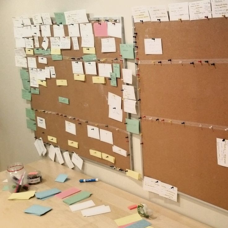 Writing an interactive story takes a whoooole lot of index cards.