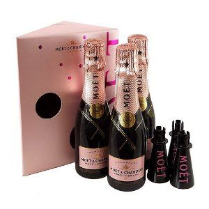 Moet & Chandon Rosé - Miniature Champagne Gift Set