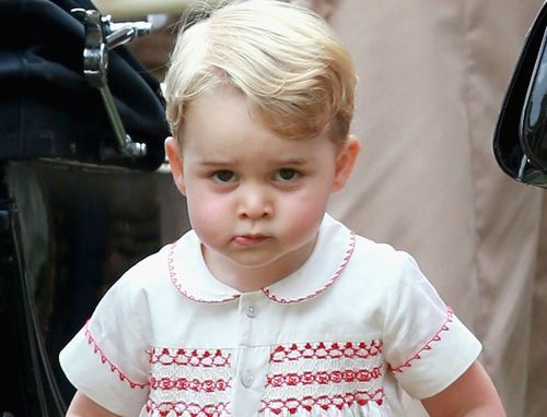 The Stir-16 Pictures of Prince George Looking Like a Very Mischievous Little Royal (PHOTOS)