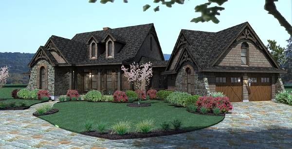 Vida de la Confianza House Plan 2138 - 3 Bedrooms and 2.5 Baths | The House Designers