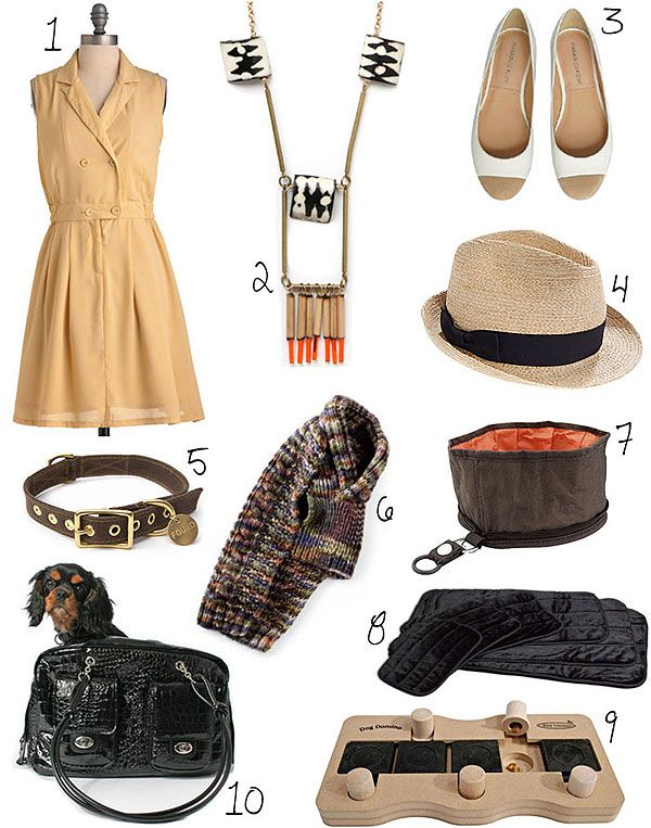 Going to a dog-friendly cafe? Make sure you and your pooch look cafe-chic in these stylish picks.