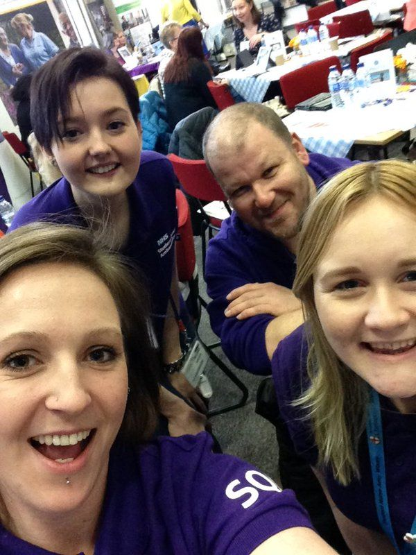 A fab post #WGT16 blog by student nurse Zoe Butler