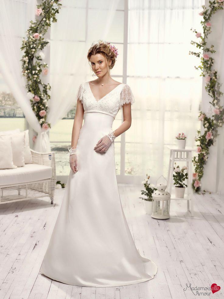 Mlle Raphia, collection de robes de mariée - Mademoiselle Amour