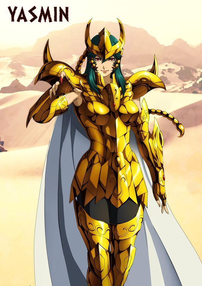Chevalier D'or  du Scorpion Dannilo Santanna / Gold Saint of Scorpio
