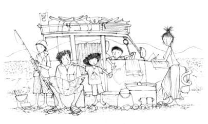 Are we there yet? Colouring in, activities #homeschool #australia #alisonlester