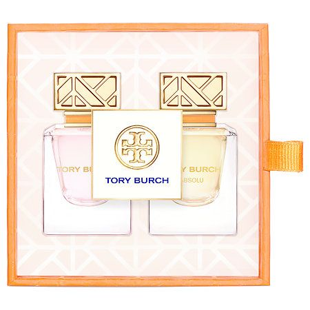 Tory Burch Mini Duo at Sephora. Two favorites in one petite package—the signature Tory Burch fragrance and new Absolu.