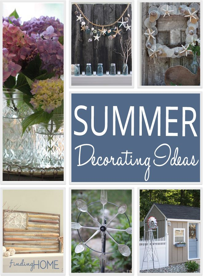 Best 25 Summer decorating ideas on Pinterest Summer mantle