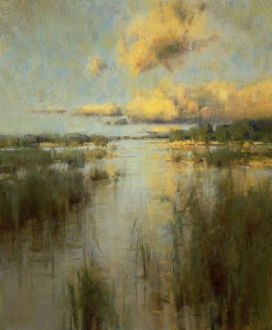 """Southern Marsh"" - 36x30"