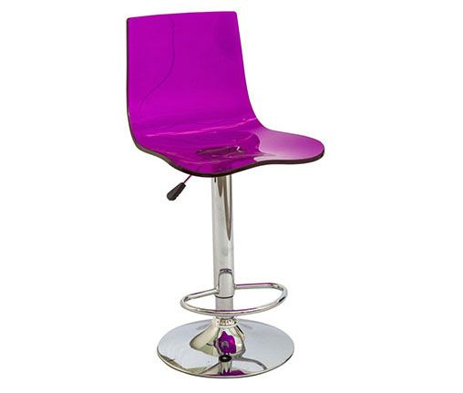 The Pink Odyssey stool is the ultimate product with a modern funky design, moulded from a translucent acrylic resin with a light and airy feel for even the most compact of locations. Extra comfort is another amazing feature with a tall, supportive backrest, gas lift height adjuster and a 360-degre swivel. Bring a touch of class and charisma to your event space with the totally on trend Odyssey Stool. http://www.eventhireonline.co.uk/seating/odyssey-purple
