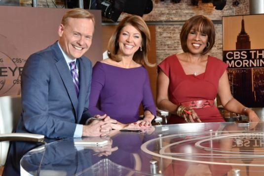 """CBS News anchor John Dickerson has joined Gayle King and Norah O'Donnell as the new co-anchor of """"CBS This Morning."""""""