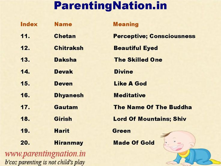 Sanskrit Baby Boy Names With Accurate Meaning For Your Cute New Born Baby. Brought To You By ParentingNation.in.