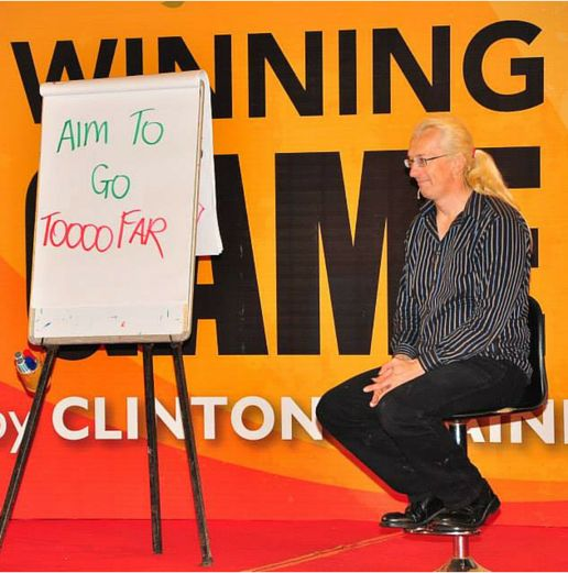 Clinton is an outstanding example of a creative visionary who is changing the world through his work. You can learn a lot from him, he has a global classroom and a global playground