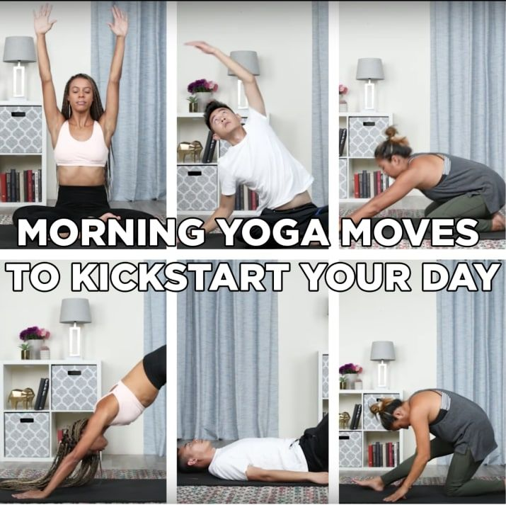 This Easy Morning Yoga Workout Routine Will Help You Start Your Day Right Morning Yoga Workouts Morning Yoga Easy Morning Yoga