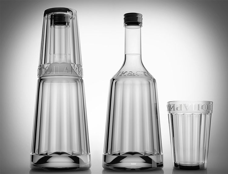 Russian Vodka Bottle (Concept) on Packaging of the World - Creative Package Design Gallery