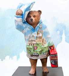 Paddington Trail Bears - Celebrity Designers & More - visitlondon.com