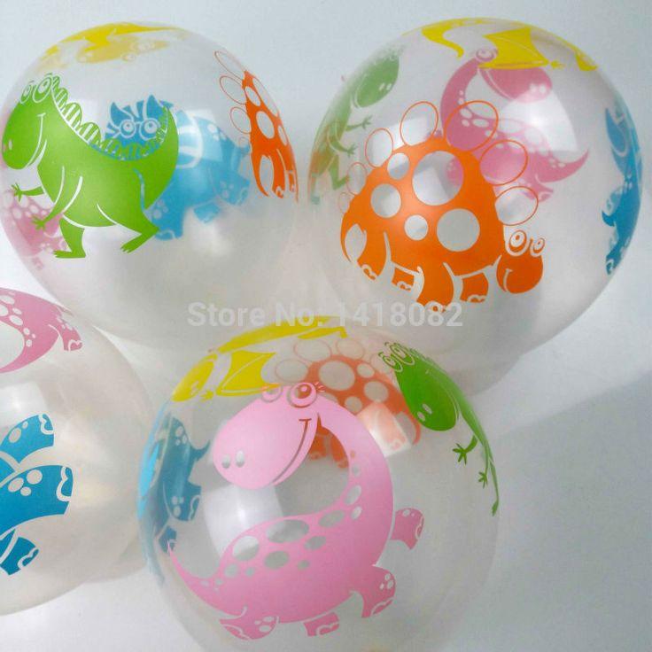 25 STKS 12 ''2.5g dinosaurus Transparante ballon Gedrukt dinosaurus Latex Ballonnen Kids Verjaardag/Party/Bruiloft globos gratis hipping in 25 STKS 12 ''2.5g dinosaurus Transparante ballon Gedrukt dinosaurus Latex Ballonnen Kids Verjaardag/Party/Bruiloft globos gratis hipping van Ballons & Accessoires op AliExpress.com | Alibaba Groep