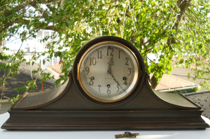 SETH THOMAS~ANTIQUE MANTEL CLOCK MAHOGANY CHIMES W/SILENT CHIME LEVER 5 HAMMERS My clock that mother insisted I have over my father's stern and stubborn objections lives on in our home and has talked to us on a few occasions. K.W.
