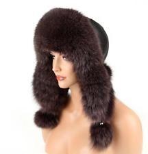 Marquez vos amis afin qu'ils puissent le voir. Fourrure Chapeau Fox Chapeau Aviateur D'hiver Cap Uschanka Cap: 179,87 EUREnd Date: 15-oct.…