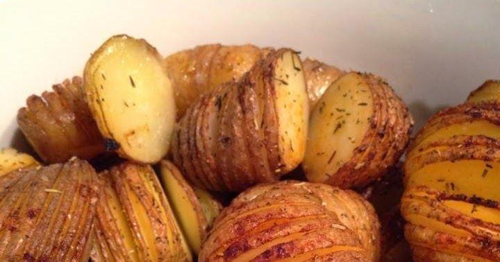 Alweer een poos geleden kwam ik een plaatje tegen op Pinterest met aardappels in schijfjes gesneden en gebakken in de oven. Omdat ik meesta...