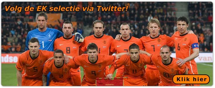 Volg de Nederlandse selectie voor het EK2012 via Twitter -  TTM Communicatie