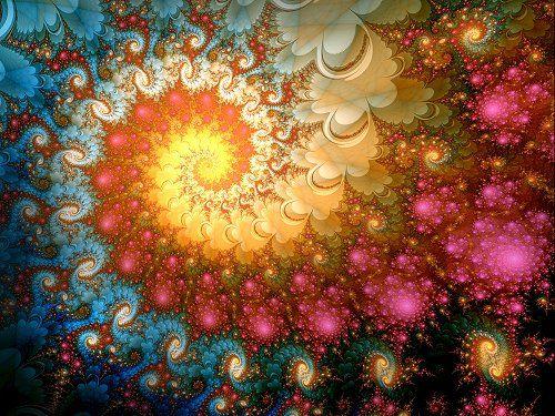"""Fractalii sunt forme si modele extraordinare create cu ajutorul ecuatiilor matematice. O definitie intuitiva a fractalului este aceasta: Un fractal este o figura geometrica fragmentata sau franta, care poate fi divizata in parti, astfel incat fiecare dintre acestea sa fie (cel putin aproximativ) o copie miniaturala a intregului. Cuvantul """"fractal"""" a fost introdus de matematicianul…"""