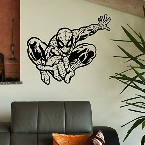 Wall Decal Vinyl Stickers Spiderman Superhero Wall Decals