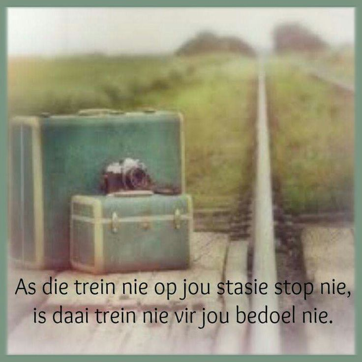 Bestemming... #Afrikaans #meant2b #Analogies (FB)
