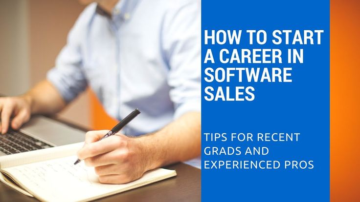 Interested in starting a Software Sales Career, but need a little bit of advice? This video is for you!