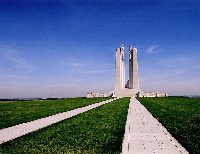Vimy Ridge Canadian Memorial France