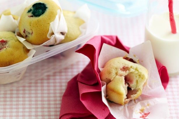 No one needs to miss out when these dairy-free muffins are on hand. They're perfect for kids with dairy allergies.