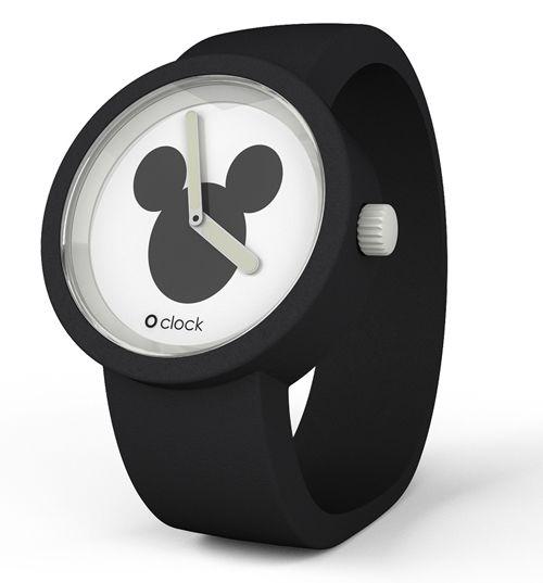 Black Mickey Mouse Icon Disney Watch #converttoblack