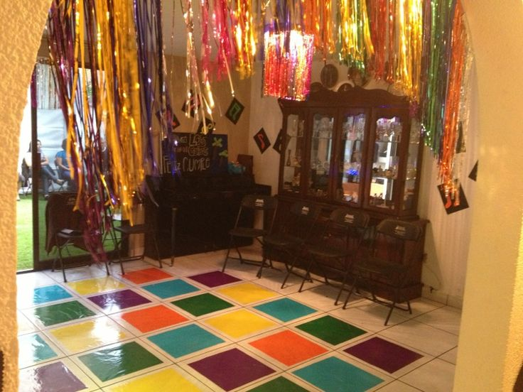 Disco party decoration diy pinterest the o 39 jays for 70 birthday decoration ideas