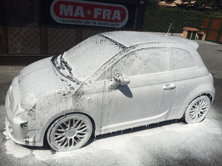 Car Wash Abarth 595