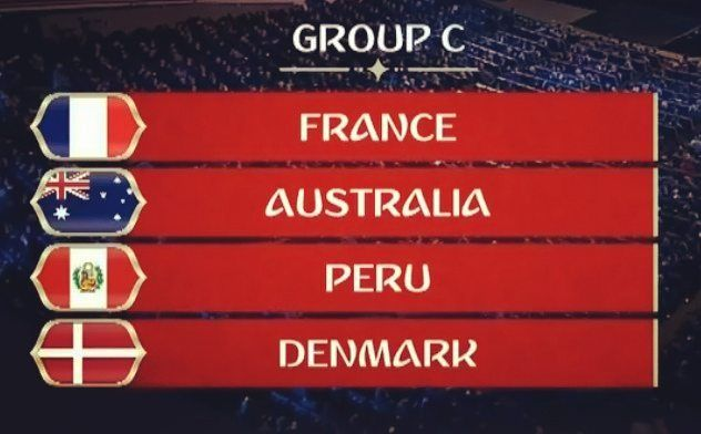 GRUPO C: Rivales fixture y horarios ANOTA!!! #VamosPerú  #Rusia2018  vs  Sábado 16 de Junio - 11 am en Saransk  vs  Jueves 21 de Junio - 07 am en Ekaterimburgo  vs  Martes 26 de Junio - 09 am en Sochi