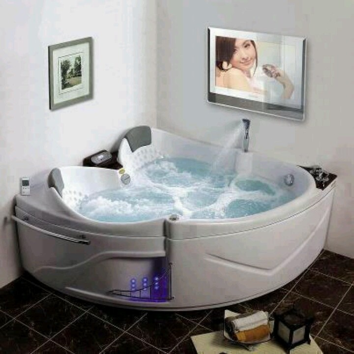 528 best Home Ideas images on Pinterest   Soaking tubs, Bathroom and ...