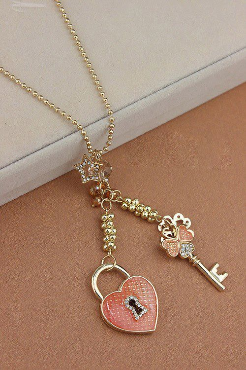 I would gladly take accept this if my boyfriend if he gave this to me! That way I will always have the key to his heart :) <3