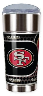 NFL San Francisco 49ers 24 oz. Vacuum Insulated Stainless Steel EAGLE Party Cup
