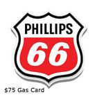 $75 Phillips 66 Gas Gift Card - Mail Delivery