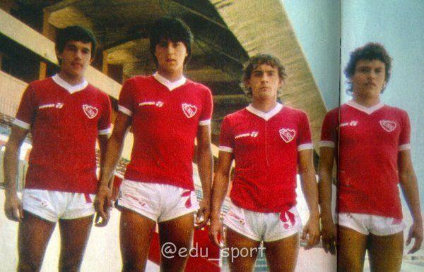 1982 / Jovenes Promesas : Burruchaga-Monzon-Clara- Clausen