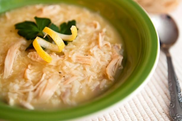 Greek Lemon Chicken Soup from Food.com:   								Oh so simple soup, great way to use up leftover chicken or get a ready cooked on in the grocery store.  Has a light, lemony flavor.  Posted for the Zaar World Tour 2005 to Greece.: Dinner, Lemon Rice Soup, Simple, Lemon Chicken Soups, Chicken Soup Recipes, Cooking, Recipes Dieting Menus Food, Favorite Recipes, Greek Lemon