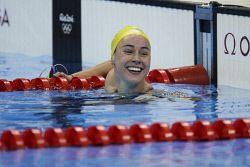 TWA-0050893 © WestPix 2016 Rio Olympics. Rio de Janeiro, Brazil. Swimming. Women's 200m Butterfly. Brianna Throssell. Picture: Simon Santi The West Australian