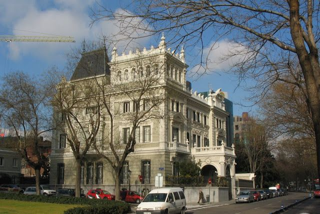 100 ideas to try about old palaces madrid no se tiempo and solar - Colegio arquitectos toledo ...